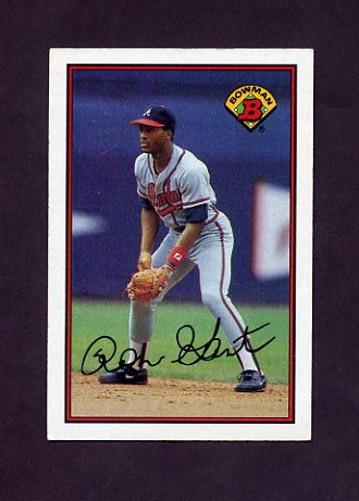 1989 Bowman Baseball #274 Ron Gant - Atlanta Braves