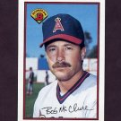 1989 Bowman Baseball #043 Bob McClure - California Angels