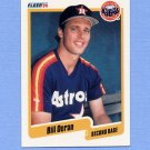 1990 Fleer Baseball #230 Bill Doran - Houston Astros