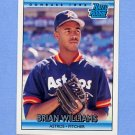 1992 Donruss Baseball #416 Brian Williams RR RC - Houston Astros