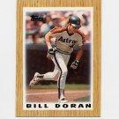 1987 Topps Mini Leaders Baseball #09 Bill Doran - Houston Astros