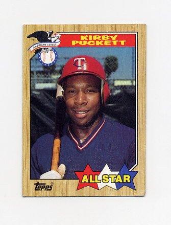 1987 Topps Baseball #611 Kirby Puckett AS - Minnesota Twins