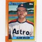 1990 Topps Baseball #112 Glenn Wilson - Houston Astros