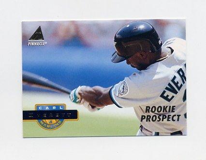 1994 Pinnacle Baseball #252 Carl Everett - Florida Marlins