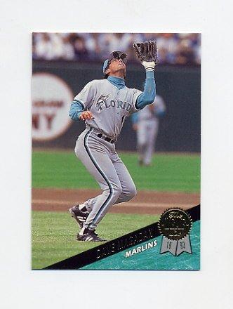 1993 Leaf Baseball #391 Dave Magadan - Florida Marlins