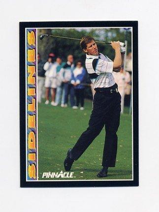 1992 Pinnacle Baseball #592 Orel Hershiser SIDE - Los Angeles Dodgers