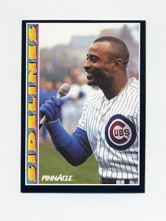 1992 Pinnacle Baseball #293 Dwight Smith SIDE - Chicago Cubs
