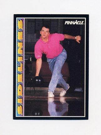 1992 Pinnacle Baseball #292 John Burkett SIDE - San Francisco Giants