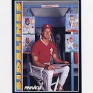 1992 Pinnacle Baseball #288 Bob Tewksbury SIDE - St. Louis Cardinals