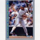 1993 Fleer Baseball #636 Franklin Stubbs - Milwaukee Brewers