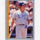 1993 Fleer Baseball #622 Kevin McReynolds - Kansas City Royals