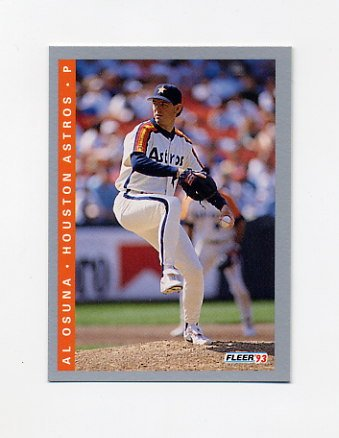 1993 Fleer Baseball #440 Al Osuna - Houston Astros