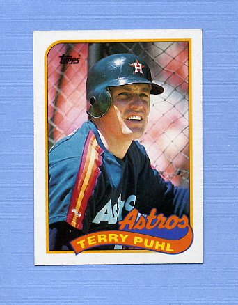 1989 Topps Baseball #119 Terry Puhl - Houston Astros ExMt