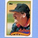 1989 Topps Baseball #024 Larry Andersen - Houston Astros ExMt