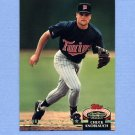 1992 Stadium Club Baseball #601 Chuck Knoblauch MC - Minnesota Twins
