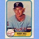 1981 Fleer Baseball #625 Buddy Bell - Texas Rangers