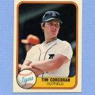 1981 Fleer Baseball #479 Tim Corcoran - Detroit Tigers
