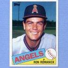 1985 Topps Baseball #579 Ron Romanick - California Angels