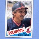 1985 Topps Baseball #327 Brook Jacoby - Cleveland Indians
