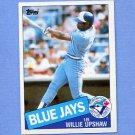 1985 Topps Baseball #075 Willie Upshaw - Toronto Blue Jays