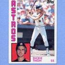 1984 Topps Baseball #692 Dickie Thon - Houston Astros