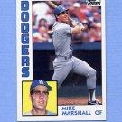 1984 Topps Baseball #634 Mike Marshall - Los Angeles Dodgers