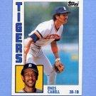 1984 Topps Baseball #482 Enos Cabell - Detroit Tigers