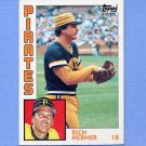 1984 Topps Baseball #433 Rich Hebner - Pittsburgh Pirates