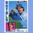 1984 Topps Baseball #247 Onix Concepcion - Kansas City Royals
