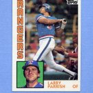 1984 Topps Baseball #169 Larry Parrish - Texas Rangers