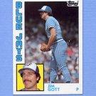 1984 Topps Baseball #009 Jim Gott - Toronto Blue Jays