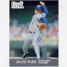 1991 Ultra Baseball #369 Duane Ward - Toronto Blue Jays
