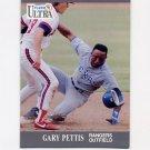 1991 Ultra Baseball #352 Gary Pettis - Texas Rangers