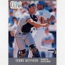1991 Ultra Baseball #321 Terry Kennedy - San Francisco Giants