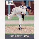 1991 Ultra Baseball #317 John Burkett - San Francisco Giants