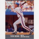 1991 Ultra Baseball #219 Tom Herr - New York Mets