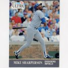 1991 Ultra Baseball #170 Mike Sharperson - Los Angeles Dodgers