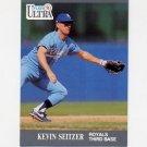 1991 Ultra Baseball #155 Kevin Seitzer - Kansas City Royals