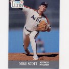 1991 Ultra Baseball #140 Mike Scott - Houston Astros