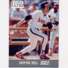 1991 Ultra Baseball #046 Donnie Hill - California Angels