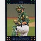 2007 Topps Baseball #624 Jeremy Brown - Oakland A's