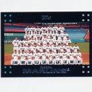 2007 Topps Baseball #592 Florida Marlins Team Photo