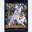 2007 Topps Baseball #541 David DeJesus - Kansas City Royals