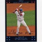 2007 Topps Baseball #538 Wily Mo Pena - Boston Red Sox