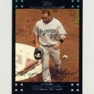 2007 Topps Baseball #375 Miguel Olivo - Florida Marlins