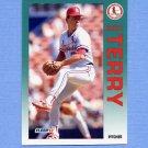 1992 Fleer Baseball #593 Scott Terry - St. Louis Cardinals
