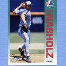 1992 Fleer Baseball #487 Chris Nabholz - Montreal Expos