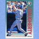 1992 Fleer Baseball #300 Jack Daugherty - Texas Rangers