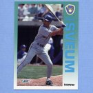 1992 Fleer Baseball #191 Dale Sveum - Milwaukee Brewers