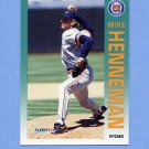 1992 Fleer Baseball #138 Mike Henneman - Detroit Tigers